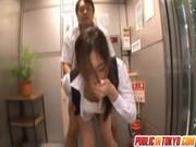 上司に犯される長身美人妻のひとずま動画