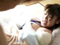 美人な若妻が介護相手に無理矢理犯され続け徐々に受け入れちゃう巨乳な人妻動画