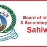 BISE Sahiwal Intermediate Result 2019