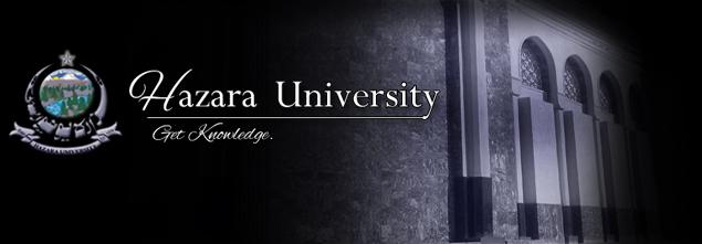 Hazara University Fee Structure 2021