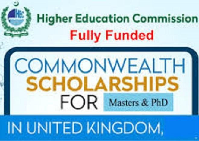 HEC Scholarships for Phd in UK Universities 2021