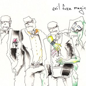 evil fuzz magic album cover