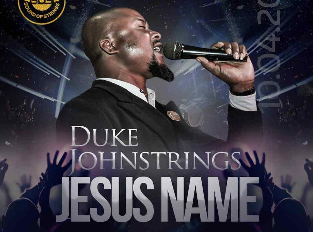 album art of Jesus Name by Duke Johnstrings
