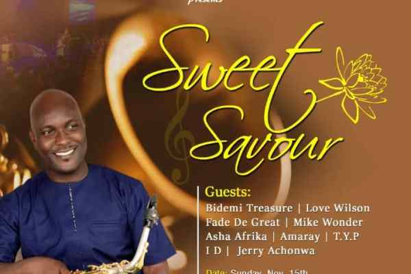 Sweet Savour by Jesus Jazz Club
