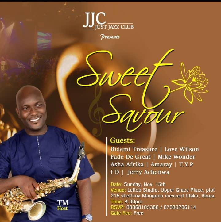 Sweet Savour by Jesus Jazz Club