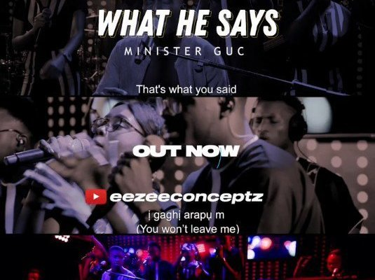 What He Says by GUC