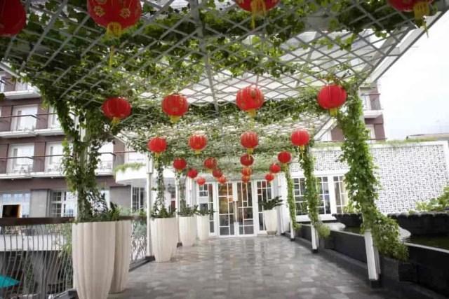 Lobbi Depan 101 Hotel Surya Kencana Bogor