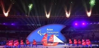 Ilustrasi Gambar Pembukaan Asian Para Games 2018