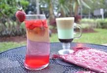 Strawberry Mojito Green Mocha - Hotel Santika BSD Teraskota