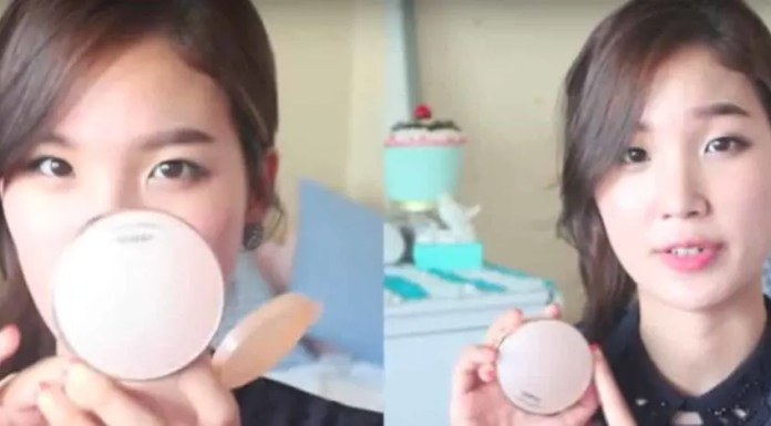 Korean BB/CC Cushion Foundation Review (Image: Youtube Channel Liah Yoo)
