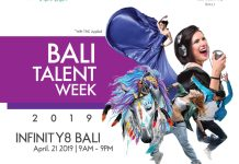 Event BALI TALENT WEEK 2019 kolaborasi antara Vvednue Indonesia & INFINITY8 BALI