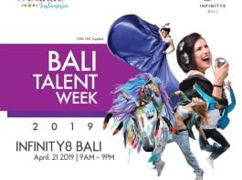 Event BALI TALENT WEEK 2019 kolaborasi antara Vvednue Indonesia & INFINITY8 BALI