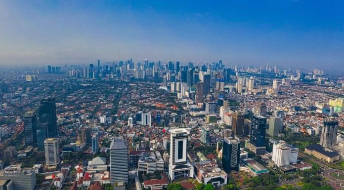 gambar landscape kota Jakarta