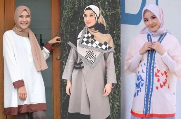 Gaya Hijab Artis Indonesia