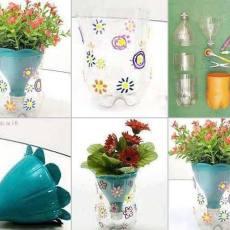 забавна ваза за цветя.