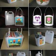 Кутия от рециклирани материали