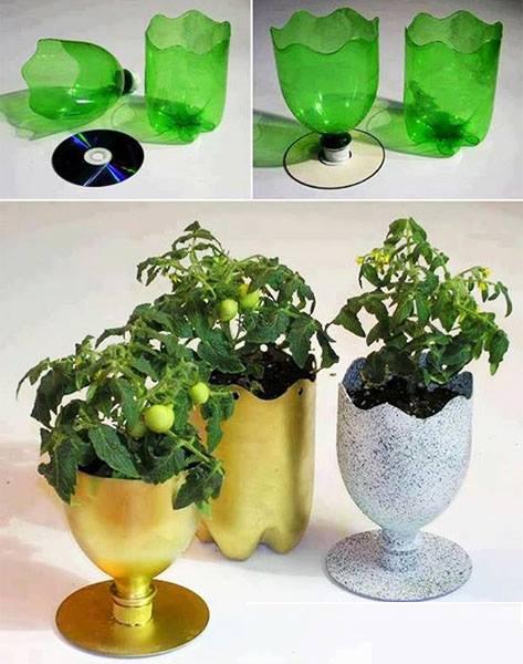 как да си направим уникална ваза или саксия
