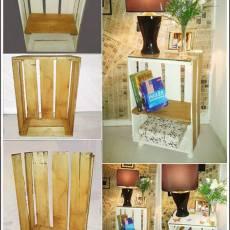етажерки от дървени щайги