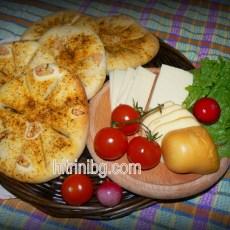 Пикантни хлебчета със зехтин