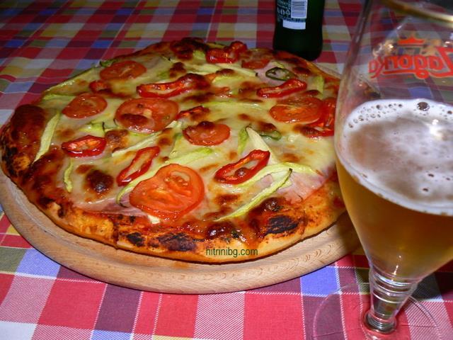пица с шунка