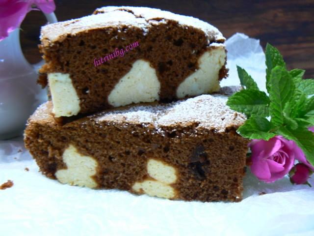 шоколадов сладкиш с извара