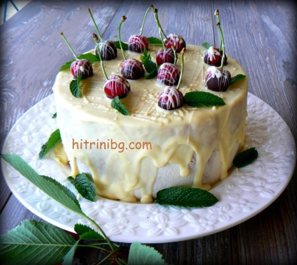 торта с череши