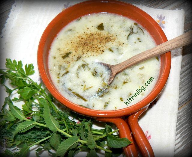 Лятна супа трите китки