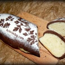 Шарен хляб с какао и магданоз