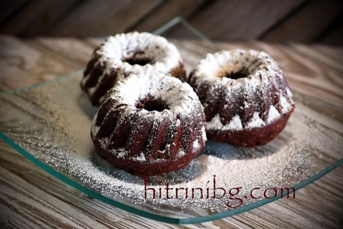 мъфини с какао