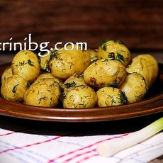 Задушени картофи - пресни