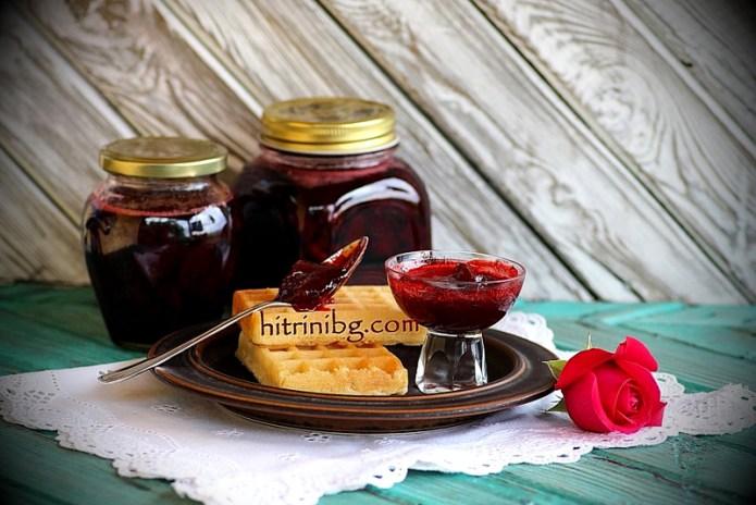 домашен конфитюр от ягоди