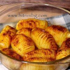 Печени картофи на гребен