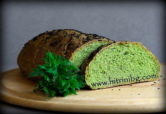хляб с коприва