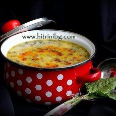 Супа от киселец с масло