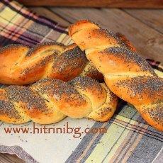 Рецепта за макови хлебчета