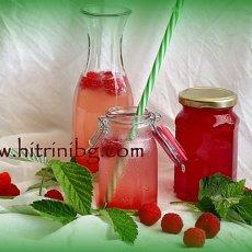 Бърза рецепта за сироп от малини