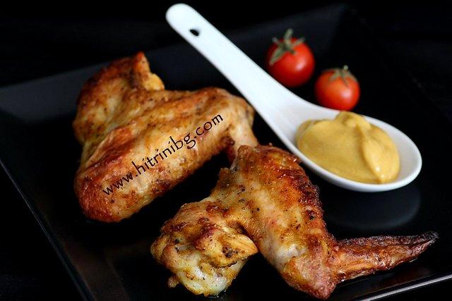 пилешки крилца на фурна