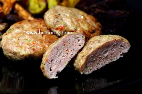 кюфтета от пилешко месо с подправки