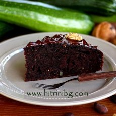 Шоколадов сладкиш с тиквички
