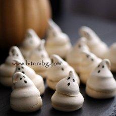 Сладки призраци за Хелоуин