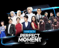 Vivo V7+ Jadi Smartphone Pertama di Indonesia yang di Launching di 9 Stasiun TV Nasional dan 9 Media Online.