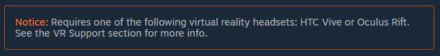 perangkat yang direkomendasikan untuk menjalankan DreadEye VR