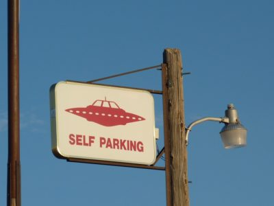 Self parking UFOs