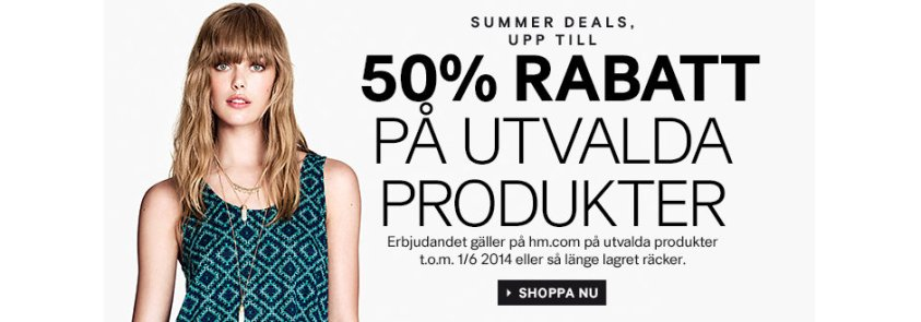 H&M Rabattkoder