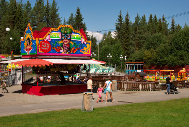 Lycksele Djurpark Sveriges Nordligaste Hittaupplevelsese