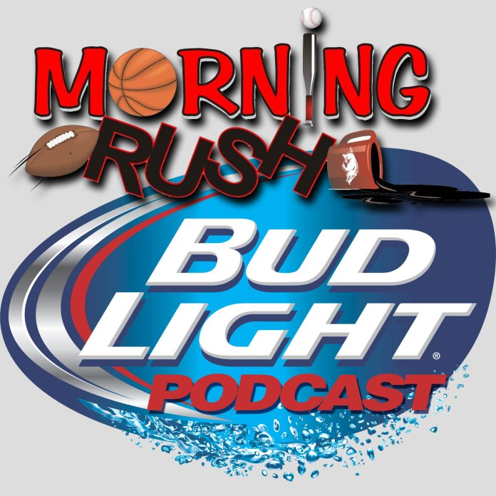 Thursday's Bud Light Morning Rush podcast