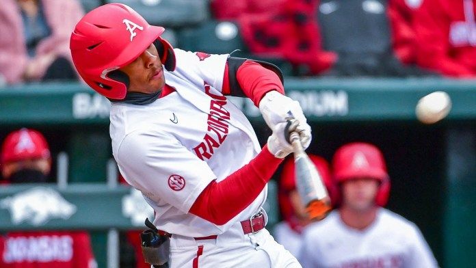 Hogs' go long four times to down Southeast Missouri on Friday