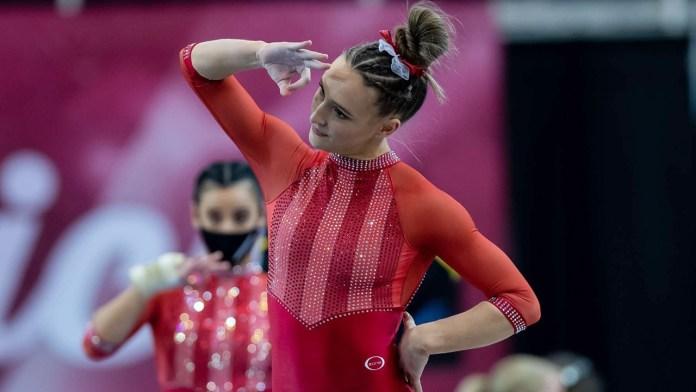 Hambrick named co-gymnast in SEC for last week