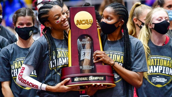 Hogs get 58-point surge on last day to claim another championship