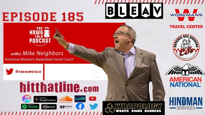 THE HAWG TALK PODCAST Episode 185: Mike Neighbors